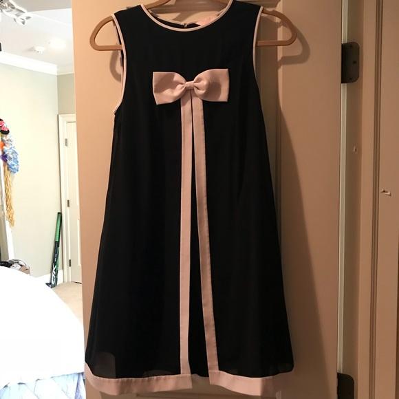 Ted Baker London Dresses Ted Baker Black Bow Tie Dress Poshmark